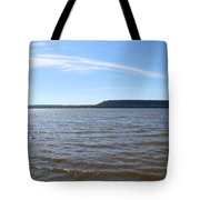 Feathery Tote Bag