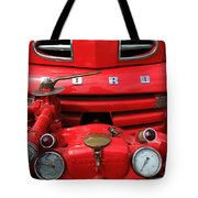 Featured Old Ford  Front On Fire Engine Denmark  Tote Bag