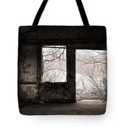 February - Comfortable Seclusion - Self Portrait Tote Bag