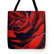 February Rose Tote Bag