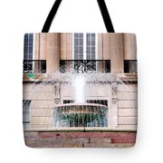 Federal Building Fountain Tote Bag