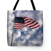 Federal Hill Flag Tote Bag by Brian Wallace