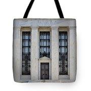 Federal Reserve Tote Bag by Susan Candelario