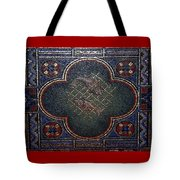 Feed The Hungry Mosaic - St Louis Basilica Tote Bag