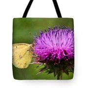 Feeding On Thistle Tote Bag
