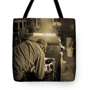 Feeding The Beast Tote Bag