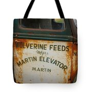 Feeds Of The Past Tote Bag