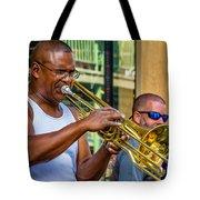 Feel It - New Orleans Jazz  Tote Bag