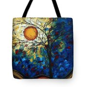 Feel The Sensation By Madart Tote Bag
