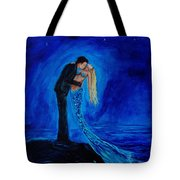 Feeling Safe In Your Arms Tote Bag