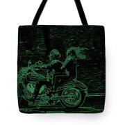 Feeling The Ride Tote Bag