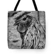 Felicia's Raving Rooster Tote Bag