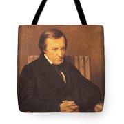 Felicite Robert De Lamennais, 1845 Oil On Canvas Tote Bag
