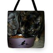 Feline Friends Tote Bag