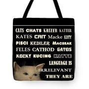 Felines   - Poster  Tote Bag