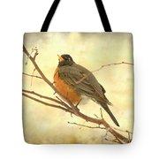 Female American Robin Tote Bag