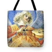Female Angel Tote Bag