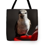 Female Anna Hummingbird Tote Bag