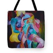 Female Art Tote Bag