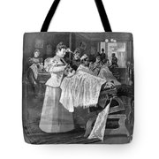 Female Barber-shop, 1895 Tote Bag
