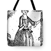 Female Continental Soldier Tote Bag