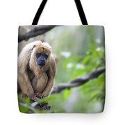 Female Howler Monkey Tote Bag