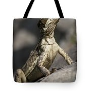 Female Jesus Lizard Tote Bag