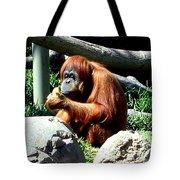 Female Orangutan-san Diego Tote Bag