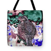 Female Pheasant Abstract Tote Bag