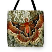 Female Promethea Moth Tote Bag