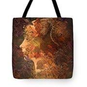 Femme D Automne Tote Bag