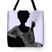 Femme Fatale C1960 Shaken Not Stirred Tote Bag