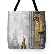 femmes de Paris Tote Bag