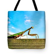 Fence Creeping Tote Bag