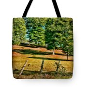 Fence - Featured In Comfortable Art Group Tote Bag