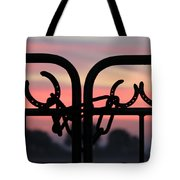 Fence Of Luck Tote Bag