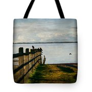 Fence Of Trust Tote Bag