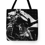 Fenced In At Indy Flhr Tote Bag