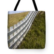 Fenced In Or Fenced Out Tote Bag
