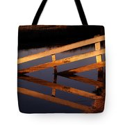 Fenced Reflection Tote Bag