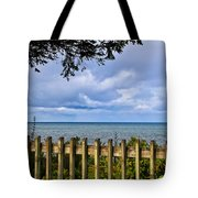 Fenced View Tote Bag