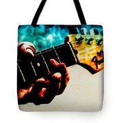 Fender Strat Tote Bag by Bob Orsillo