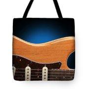 Fender Stratocaster Curves Tote Bag