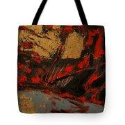 Feng Shui - Gold Mountain Tote Bag