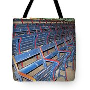 Fenway Blues Seats Tote Bag