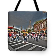Fenway Park And Cask And Flagon Tote Bag