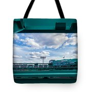 Fenway Park From The Green Monster Tote Bag
