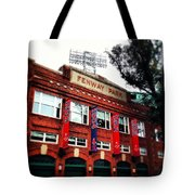 Fenway Park In October 2013 Tote Bag