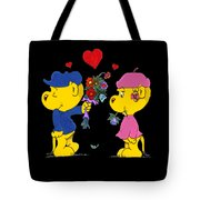 Ferald And Sahsha Tote Bag