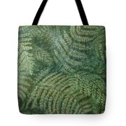 Fern Frenzy Tote Bag by Joann Renner